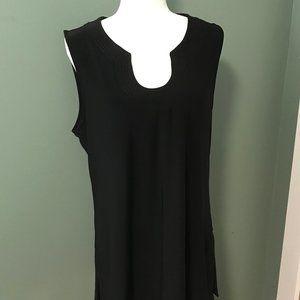 White House Black Market Sleeveless Tunic - XL